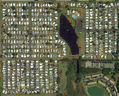 Foxwood Lake Estates Aerial Photo Lakeland FL
