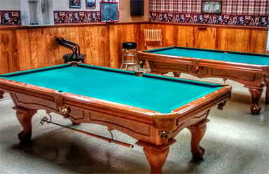 Foxwood Lake Estates Billiards Room Lakeland FL
