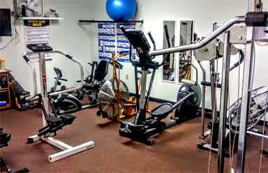 Foxwood Lake Estates Fitness RoomLakeland FL